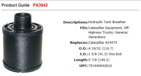Baldwin Air Filter PA3643