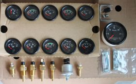 "VDO OIL PRESSURE SENSOR 0-145 PSI 10 BAR 1/8"" Idiot Light 360081030015C"