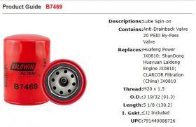 Baldwin B7469 GP30K3 LP9L1 LP11L3 LP30K3