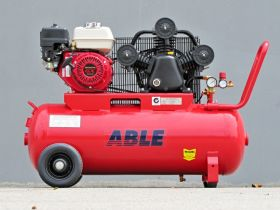 Petrol Air Compressor Honda 5.5HP 100LT 18CFM 125PSI