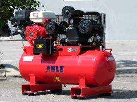 Petrol Air Compressor 15HP 160LT 42CFM 125PSI