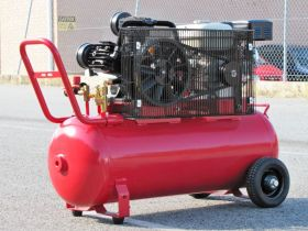 Petrol Air Compressor 6.5HP 100LT 18CFM 125PSI