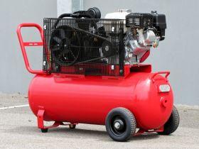 Petrol Air Compressor Honda 5.5HP 100LT 18CFM 125PSI