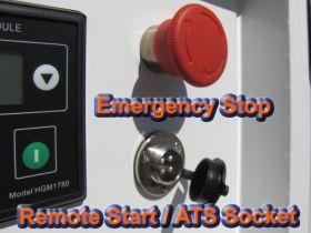 Emergency Stop & Remote Start / ATS Socket