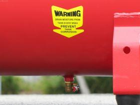 Petrol Air Compressor 6.5HP 100LT 18CFM 125PSI