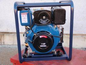 """Diesel 7HP 1.5"""" Twin Impeller High Pressure Pump"""