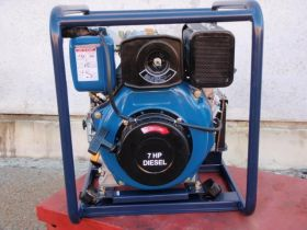 "3"" HIGH PRESSURE DIESEL ELEC START LARGE FUEL TANK"