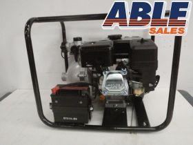 "Petrol 6.5HP Electric Start 1.5"" TwinImpellor High Pressure Pump"