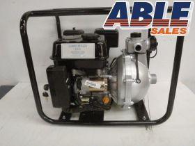 "Petrol 6.5HP Electric Start 1.5"" Twin Impellor High Pressure Pump"