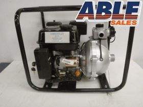 "Petrol 6.5HP Electric Start 1.5"" Twin Impellor High Pressure Pump"