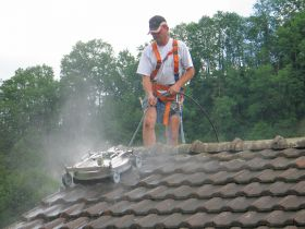 Roof Pressure Washer Cleaner