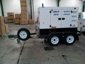 Custom Isuzu 24kVA 1Ph on Custom Trailer