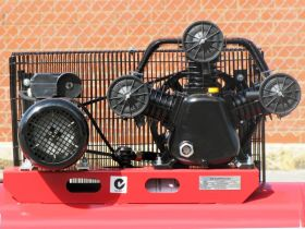 Electric 100lt 18CFM 115PSI