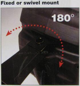 Fixed or Swivel Mount