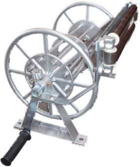 """Pressure Washer Hose Reel Up To 50m -/C 3/8"""" Swivel"""