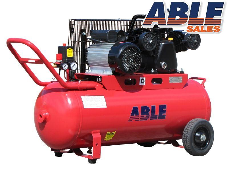 Electric Air Compressor 100lt 17CFM 115PSI