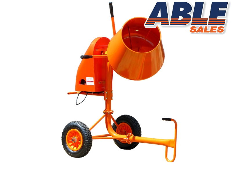 Cement Mixer Blades : Cement mixer cubic ft watt