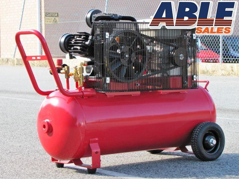 Petrol Air Compressor 6 5hp 100lt 18cfm 125psi