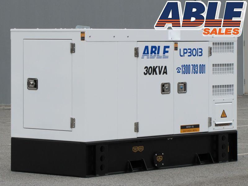 30kVA Diesel Generator 415V | ABLE LP30I3