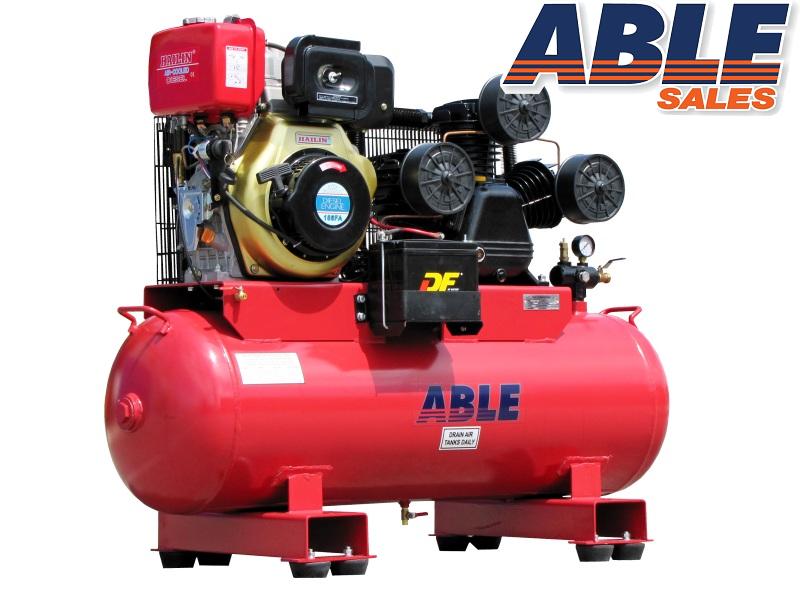 Diesel Air Compressor 11HP 160lt 145PSI 42CFM