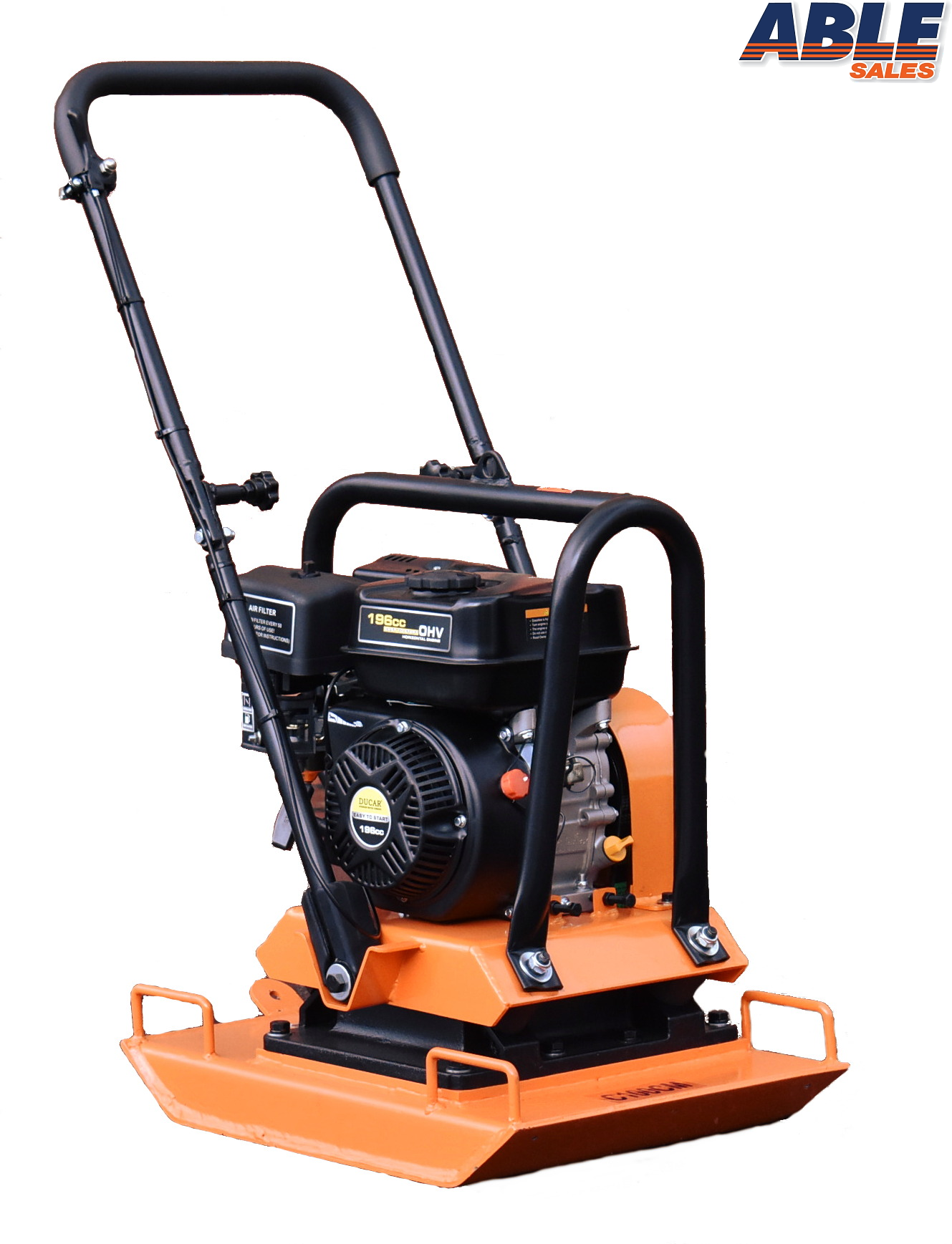 Plate Compactor 6 5hp 100kg