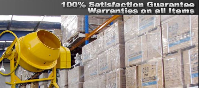 Warranties on all items